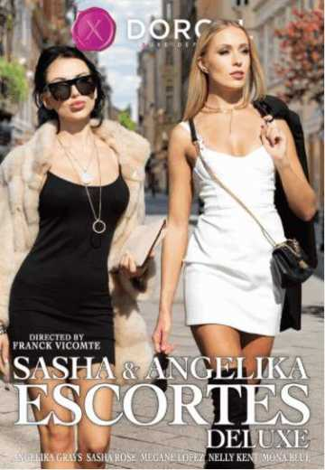 Постер к Sasha and Angelika Escorts Deluxe (2021)